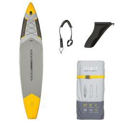 """Opblaasbaar supboard 500 voor tochtjes / 12'6-32"""" geel"""