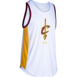 Basketbalshirt NBA Cleveland Cavaliers volwassenen wit