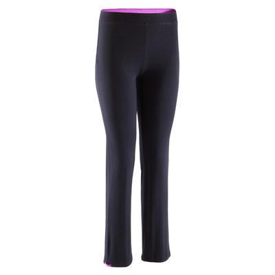 Pantalon ajustable fille noir
