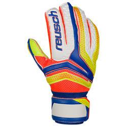 Keepershandschoenen voetbal volwassenen Serathor Extra blauw/geel