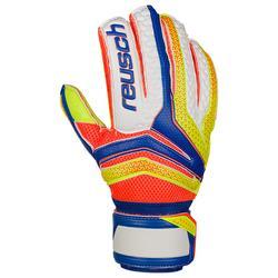 Keepershandschoen voetbal volwassenen Serathor Extra blauw geel