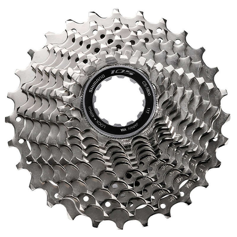 BIKE GEARING Cycling - 105 11S 11x32 Cassette SHIMANO - Bike Brakes and Transmission
