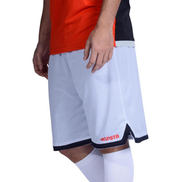Short baloncesto adulto Reversible negro blanco