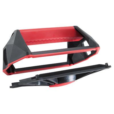 Agarraderas versátiles cross training musculacion Push Up Wheels rojo y negro