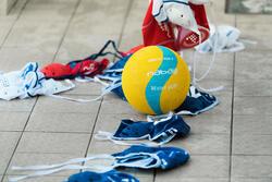 Set van 13 badmutsen voor waterpolo, volwassenen training - 1133035