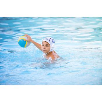 Ballon water polo Easypolo taille 3 gris bleu