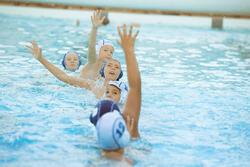 Set van 13 badmutsen voor waterpolo, volwassenen training - 1133077