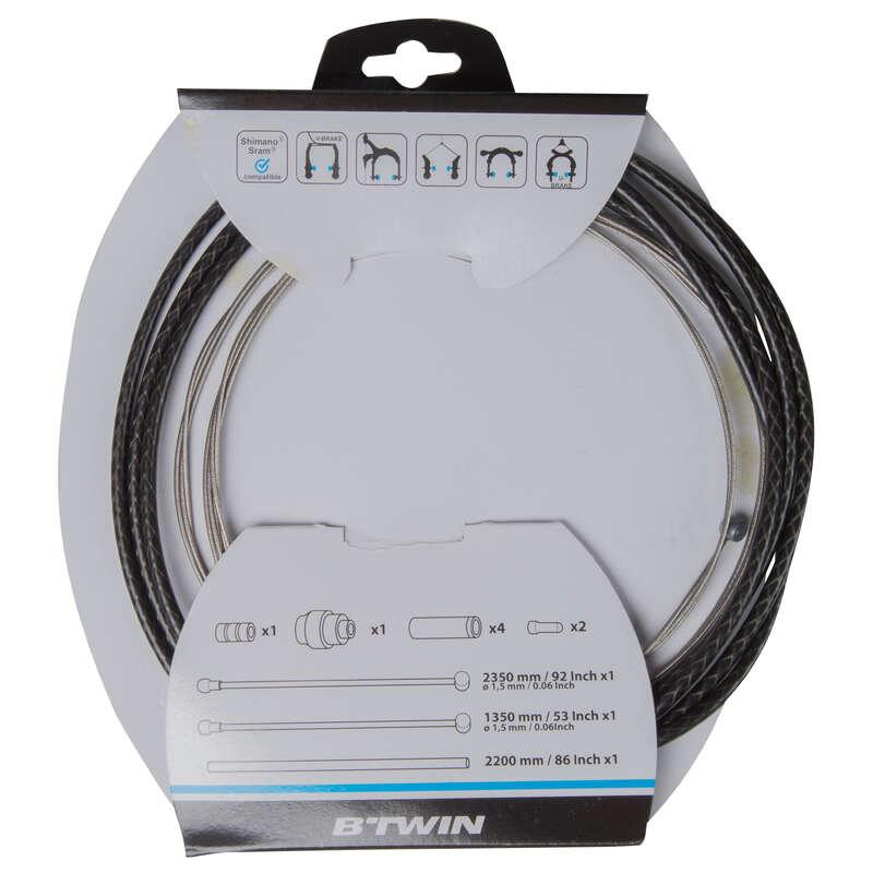 Frâne clasice/MTB Ciclism - Kit Cabluri și Cămăşi Frână  BTWIN - Reparare si intretinere polivalent