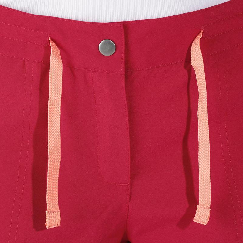 Forclaz 50 Women's Hiking Shorts - Dark Pink