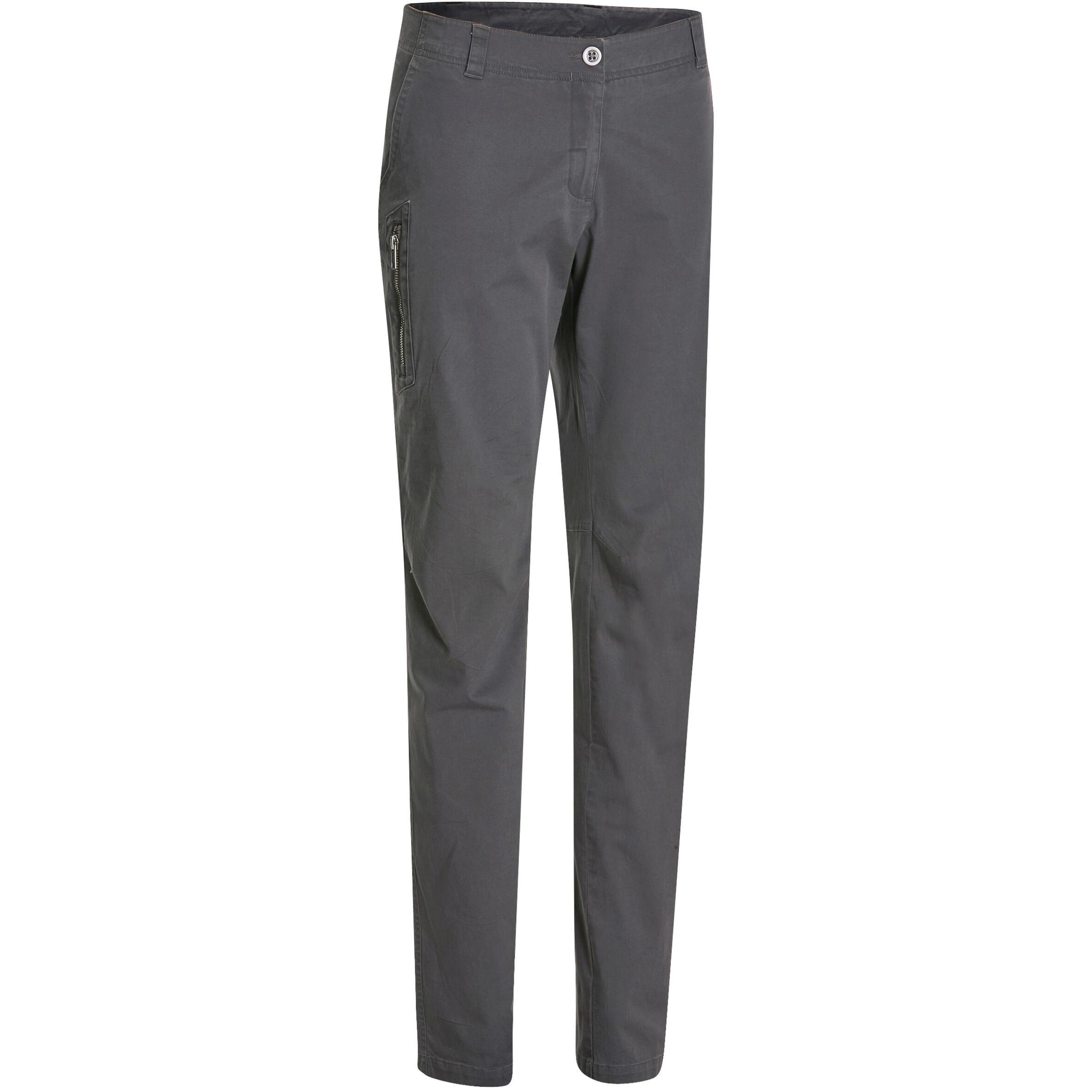 NH500 Women's Nature Hiking Trousers - Grey