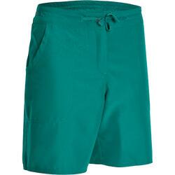 Women's Hiking Shorts Forclaz50 - Dark Green