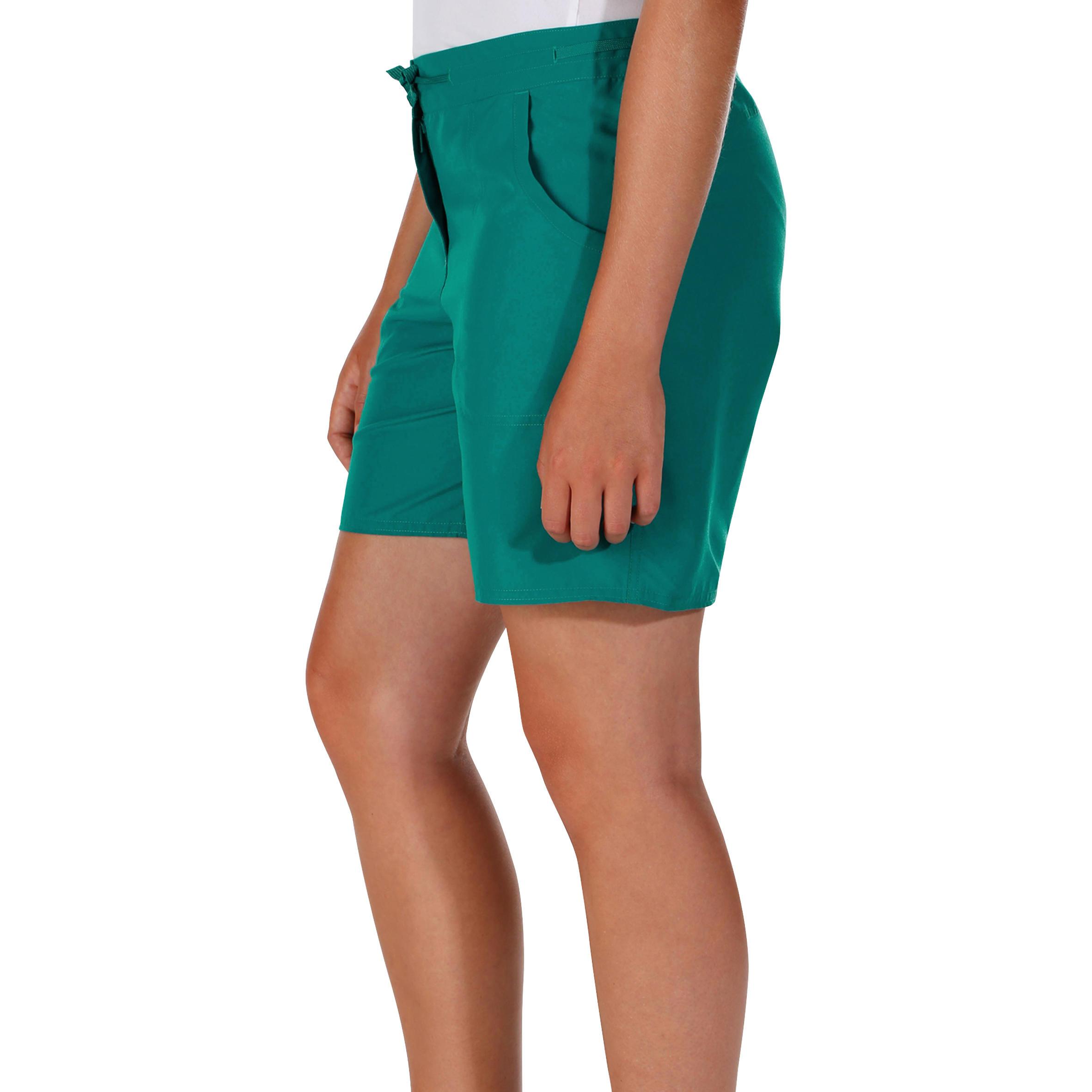 Women's Hiking Shorts Forclaz 50 - Dark Green