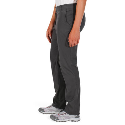 מכנסי דגמ_QUOTE_ח לנשים Arpenaz 100 - אפור