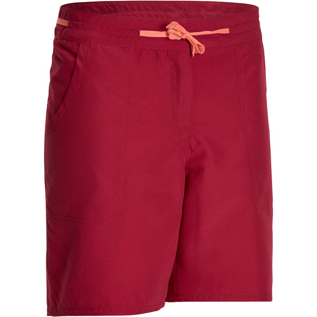 Women's Hiking Shorts Forclaz50 - Dark Pink