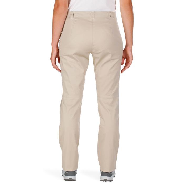 Pantalón senderismo en la naturaleza mujer NH500 beige