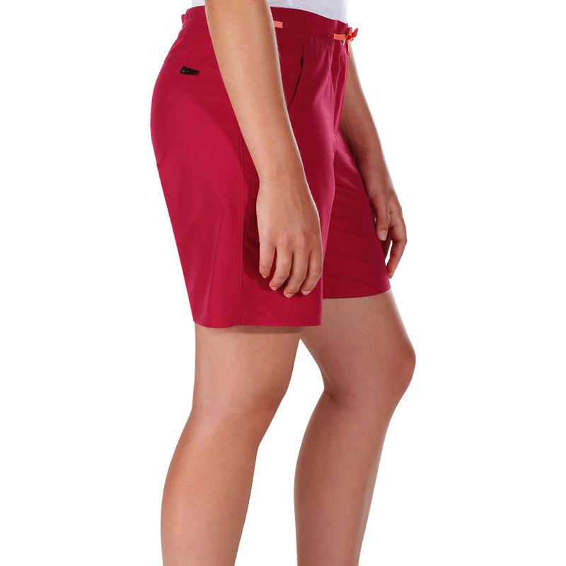 Women's Hiking Shorts Forclaz50 - Dark Pink