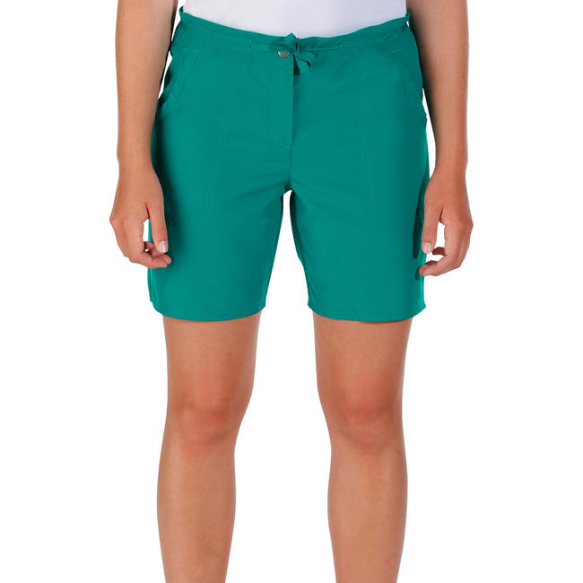 Women's Hiking Shorts Forclaz50 - Dark Green
