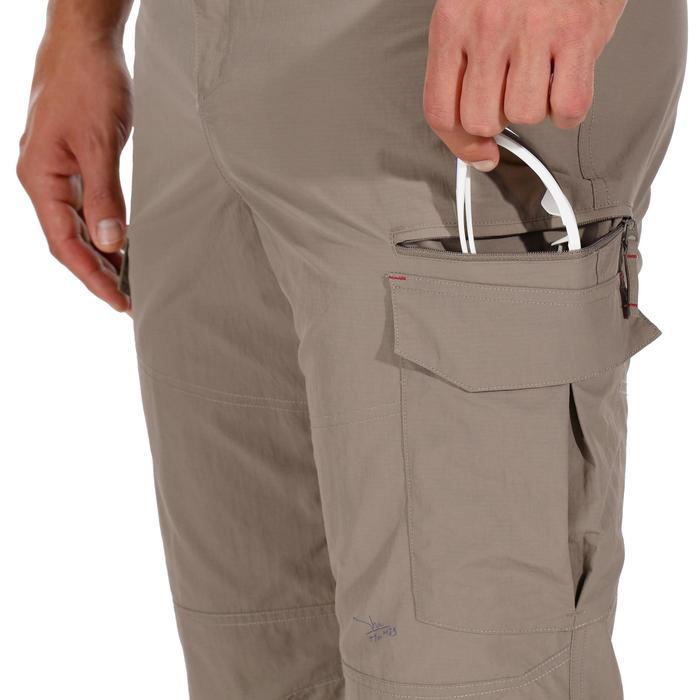 Pantalon trekking Forclaz 100 homme - 1133439