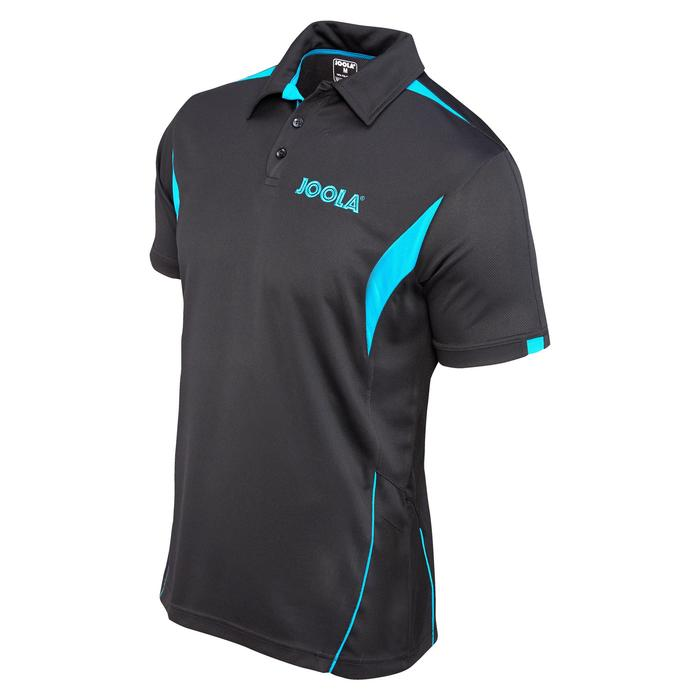 POLO DE TENNIS DE TABLE JOOLA FALK NOIR/PETROLE - 113347