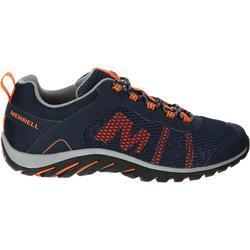 Luchtige wandelschoenen voor heren Merrell Riverbed zwart/oranje