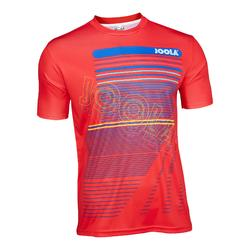 T-shirt voor tafeltennis Joola Sera rood