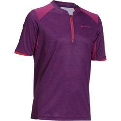 Camiseta de travesía niña Hike 900 violeta