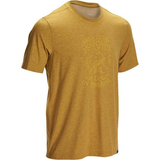 Wandel T-shirt met korte mouwen voor heren Techtil 100 gemêleerd - 1133539