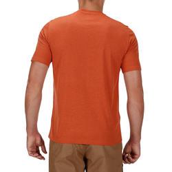NH500 Men's Country Walking T-shirt - Heathered Brick