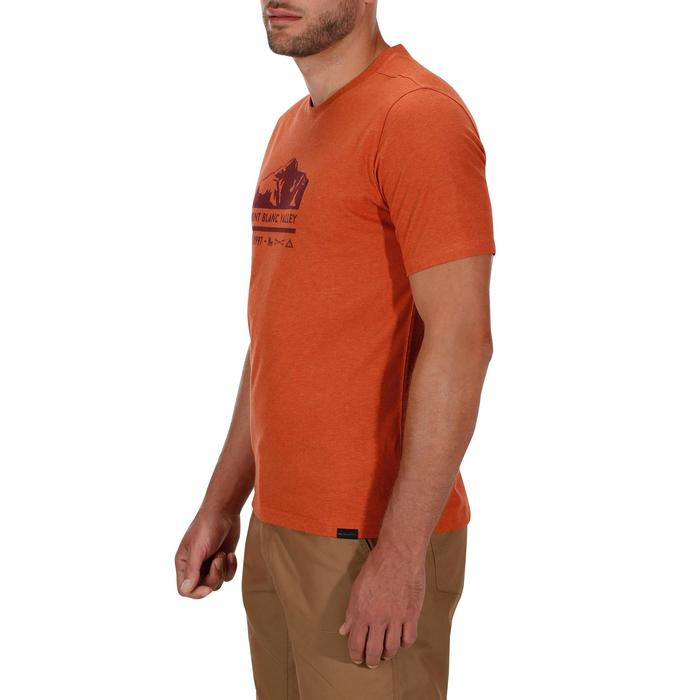 Tee shirt randonnée nature homme NH500 chiné - 1133667