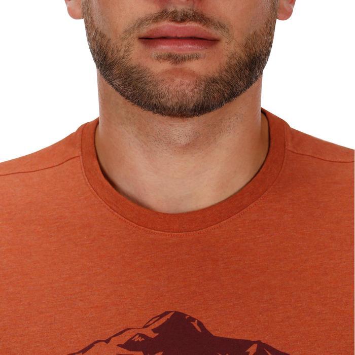 Tee shirt randonnée nature homme NH500 chiné - 1133686