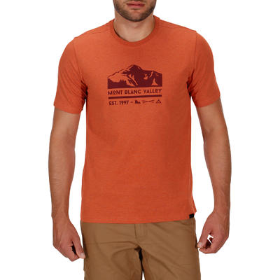 NH500 Men's Country Walking T-shirt - Heathered Brick