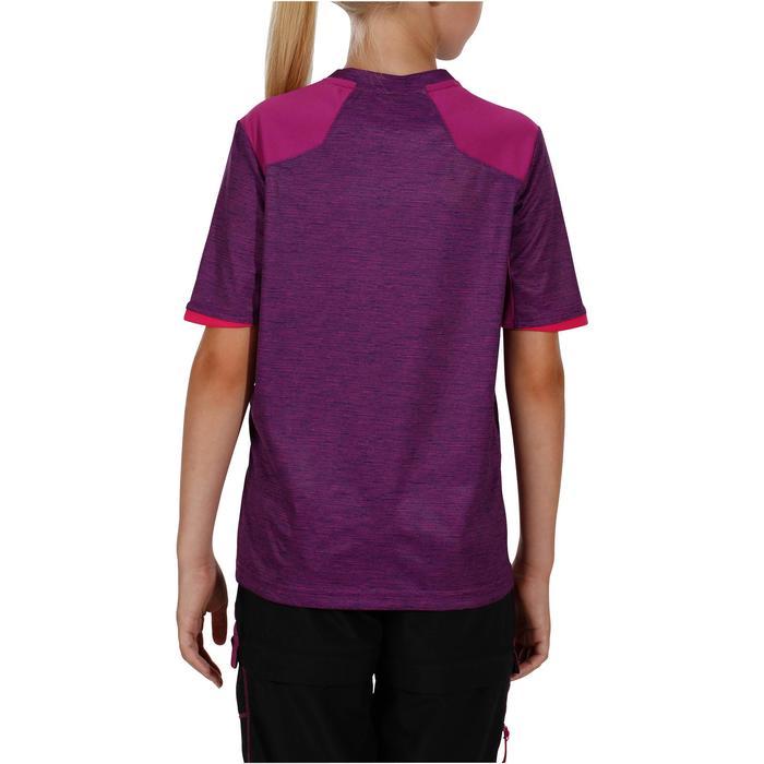 Wander-T-shirt Hike 900 Kinder violett