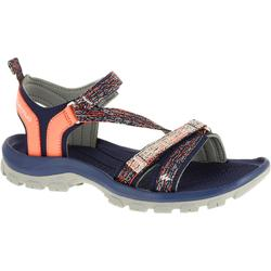 NH110 Women's Country Walking Sandals - Grey Coral