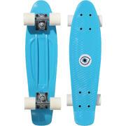 KIDS' MINI SKATEBOARD PLAY 500 PLASTIC- BLUE