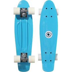 Mini-Skateboard Kunststoff Kinder blau