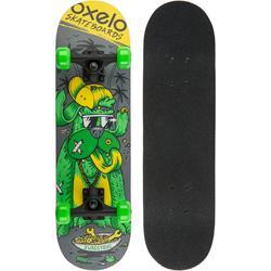 Skateboard PLAY120 DOG voor kinderen groen