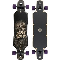 Longboard DROP RACE negro