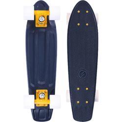 Cruiser Skateboard YAMBA azul oscuro blanco