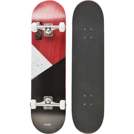 Team Galaxy Skateboard  Red  oxelo