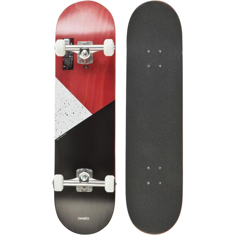 SKATEBOARD COMPLETE 100 GALAXY ROUGE