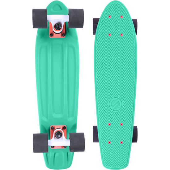 Cruiser skateboard Yamba blauw koraal - 1134053