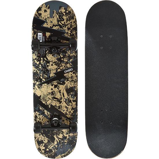 Skateboard voor kinderen Mid 3 Skull - 1134055