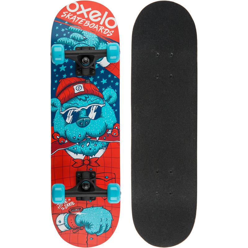 Skateboard niños PLAY 3 BEAR azul