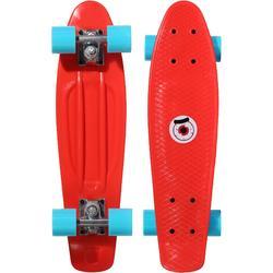 Kids' Plastic Mini Skateboard - Red