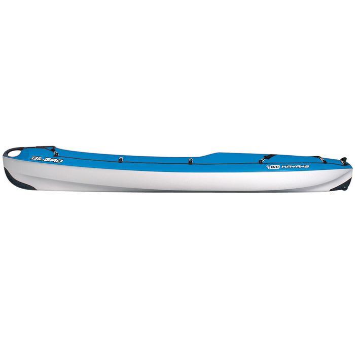 Kajak Hartschale Bilbao 1-Sitzer blau