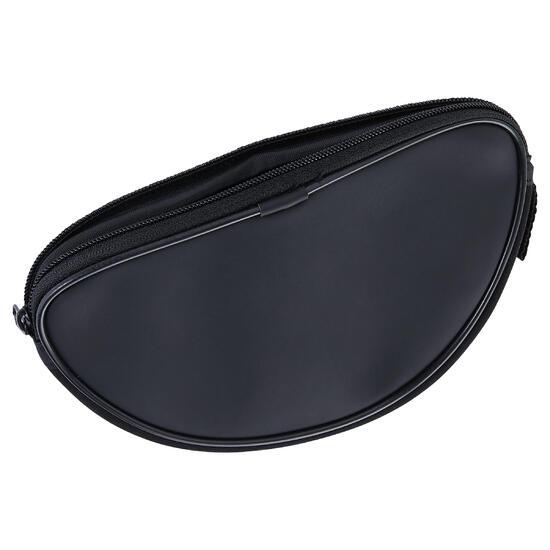 Halfhard brillenetui van neopreen Case 500 MID zwart - 1134078