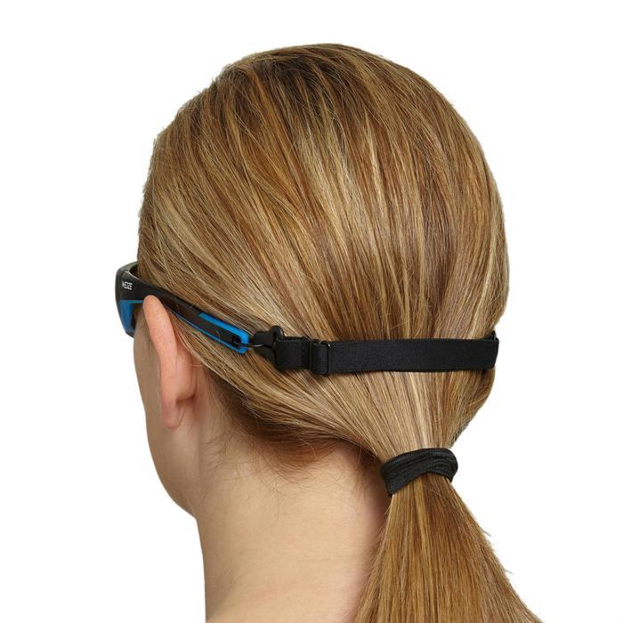 Elastisches Brillen-Halteband Strap Hook 500 mit Haken schwarz