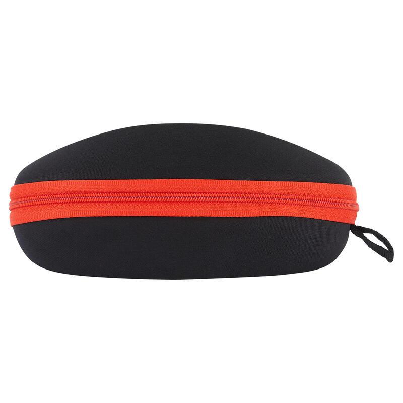 Sert Gözlük Kılıfı - Siyah / Kırmızı - 560