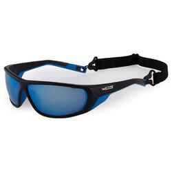 Skibrillen volwassenen Skiing 700 zwart & blauw categorie 4 - 1134092