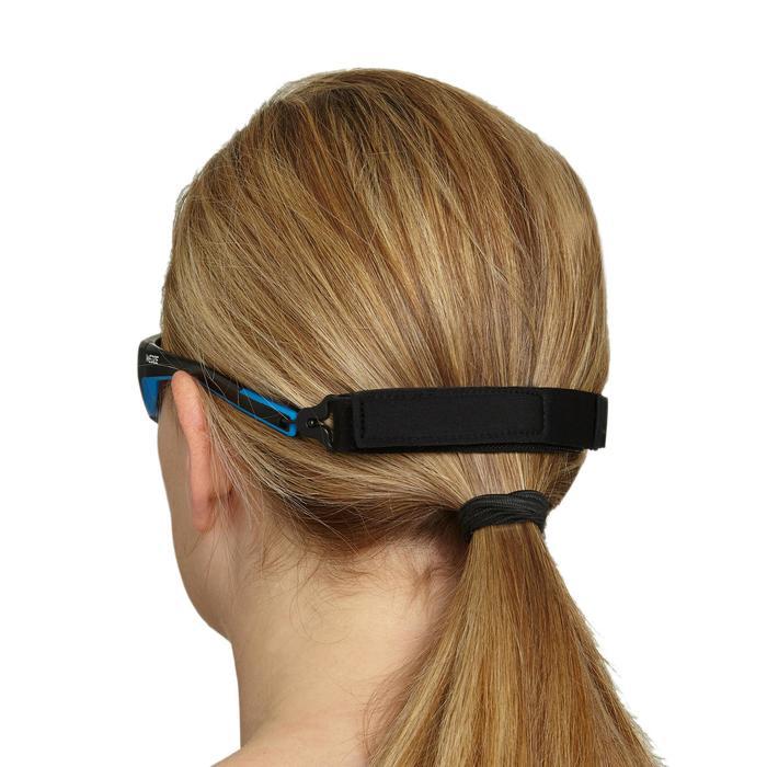 Brilband uit neopreen met haakje Strap Hook 560 zwart